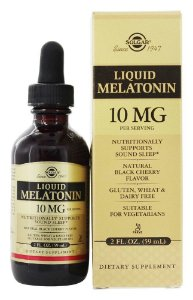 Melatonina Líquida, Solgar, 10 mg, 59ml