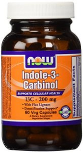 I3C - Indole 3 Carbinol, NOW Foods, 60 caps