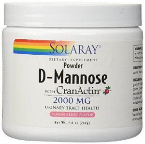 D-Mannose com CranActin® em pó, Solaray, 216g