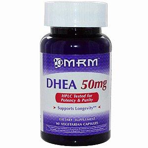 DHEA Micronizada, MRM, 50 mg, 90 Veggie Caps