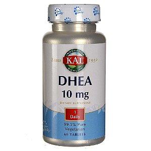 DHEA 99,5% puro, KAL, 10 mg, 60 comprimidos