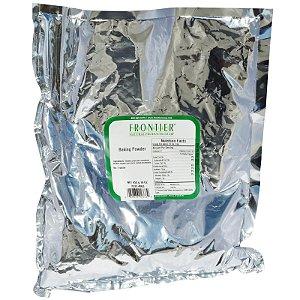 Bicarbonato de Sódio Livre de Alumínio em pó, Frontier Natural Products, 16 oz (453 g)