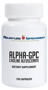 Alpha GPC, Relentless Improvement, 300mg, 120 capsulas