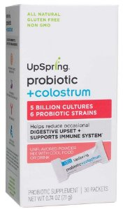 Probiótico + Colostro (para crianças e bebes), UpSpring, 30 packets
