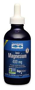 Magnesium Ionico, Trace Minerals, 118ml
