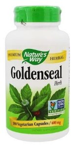 Goldenseal, Herb, Nature's Way, 400 mg, 180 Capsules