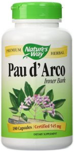 Pau d'Arco, Nature's Way, 545 mg, 180 Veggie Caps
