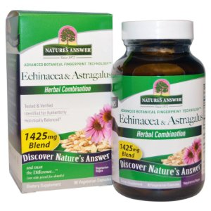 Echinacea & Astragalus, Nature's Answer, 1425 mg, 90 Vegetarian Capsules