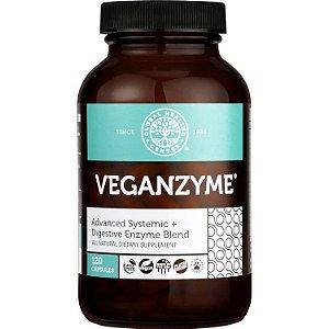 VEGANZYME®, Enzima digestiva e sistêmica para a digestão saudável, GHC, 120 capsulas