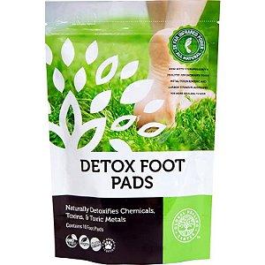 DETOX FOOT PADS™ - Almofadas naturais do pé para desintoxicação com ingredientes orgânicos - 10 unidades