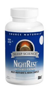NIGHT REST (Noite de Descanso), Source Naturals, 100 comprimidos