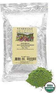 Grama do Trigo Orgânica em Pó, StarWest Botanicals, 453g