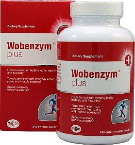Wobenzym® Plus, Mucos Pharma, 240 tabletes com revestimento entérico