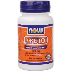 7-KETO, DHEA Metabolite, Now Foods,100 mg, 60 Vcaps