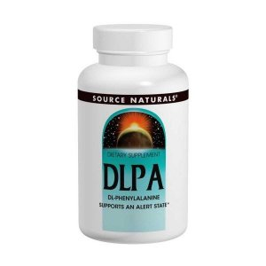 DLPA, 375 mg, Source Naturals, 120 Tablets