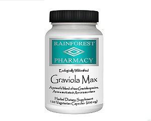 Graviola Max, Rain Tree Formulas, 600 mg, 120 Capsules