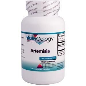 Artemisia, Allergy Research Group, Nutricology, 500mg, 100 Veggie Caps