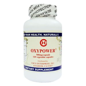 OxyPower, Chi's Enteprise, 120 softgels