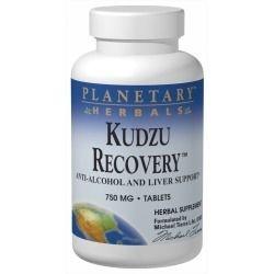 Kudzu Recovery - Anti-Álcool, Planetary Herbals, 750 mg, 120 Tablets