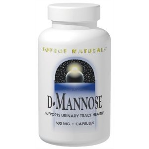 D-Mannose, Source Naturals, 500 mg, 120 Capsules