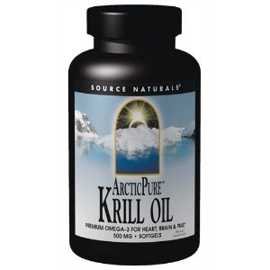 Krill Omega 3 Puro do Polo Ártico, Source Naturals, 500 mg, 120 Softgels