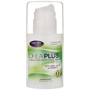DHEA Creme de Corpo Altamente Absorvente, DHEA Plus, Life Flo Health, 57 g