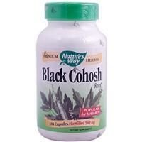 Black Cohosh, Root, Nature's Way, 540 mg, 180 Capsules