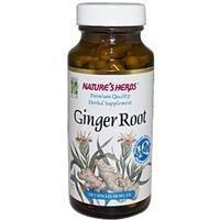Gengibre, Nature's Herbs, 530 mg, 100 Capsulas