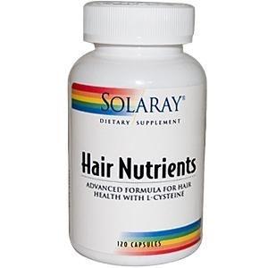 Nutrientes para o Cabelo, Solaray, 120 cápsulas