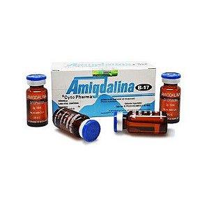 Vitamina B-17 Injetável( Amigdalina, Laetrile ), Caixa com 10 frascos de 3gr/10ml
