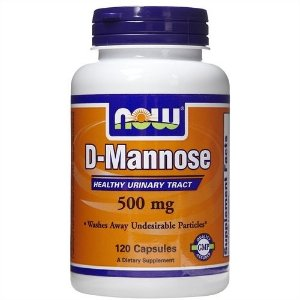 D-Mannose, Now Foods, 500 mg, 120 Capsules