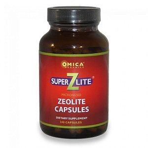Zeolite Super-Z-Lite Micronizado, Omica Organics, 240 Cápsulas