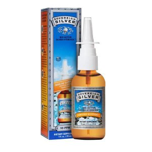 Prata Colloidal Spray Nasal, Sovereign Silver, 10 PPM, 2 fl oz (29 ml)