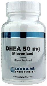 DHEA Micronizada, Douglas Laboratories, 50 mg, 100 capsulas