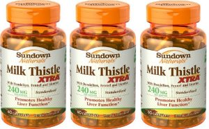 Milk Thistle Xtra, Rexall Sundown Naturals, 240 mg, 240 Capsulas