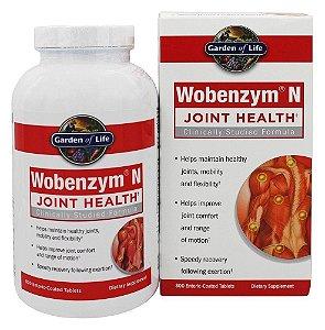 Wobenzym, Inflamação Saudável e de Apoio Conjunto, Mucos Pharma, 800 Comprimidos com Revestimento Entérico