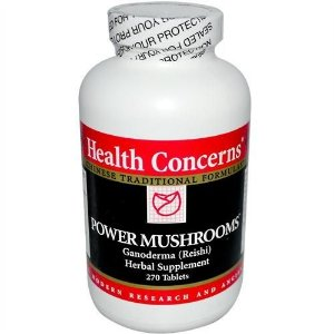 Cogumelos em Pó, Ganoderma (Reishi), Health Concerns, 650mg, 270 Tablets