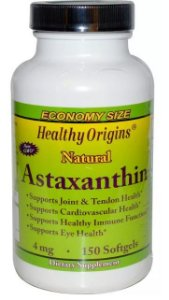 Astaxantina, Healthy Origins, 4 mg, 150 Softgels