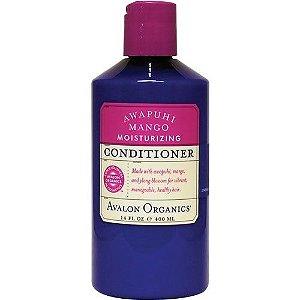 Condicionador Orgânico Hidratante Profundo Awapuhi e Manga, Avalon Organics, 14 oz (397 g)