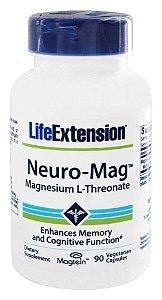 Neuro-Mag, Magnésio L-Treonato, Life Extension, 90 Veggie Caps