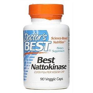 Nattokinase, Doctor's Best, 2.000 FU, 90 Veggie Caps