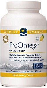 Omega 3, Pro Omega, Nordic Naturals, 1000 mg, 180 softgels