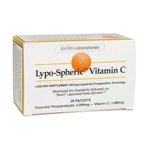 Lypo-Spheric Vitamina C Lipossomal, Livon, 30 Pacotes de 5.7 ml