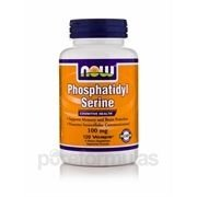 Phosphatidyl Serine, Now Foods, 100 mg 120 Vcaps