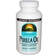 Óleo de Perilla, Source Naturals, 1.000mg 90 Softgels