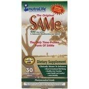 Same, Nutralife, 400 mg 30 Tablets