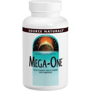 Mega-One, Source Naturals, 180 Tablets