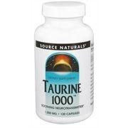 Taurina, Source Naturals, 1000 mg 120 Capsules