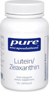 Lutein/Zeaxanthin(Luteina e Zeastaxantina), Pure Encapsulations, 120 Capsulas