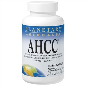 AHCC (Active Hexose Correlated Compound), Planetary Herbals, 500 mg, 60 Capsules